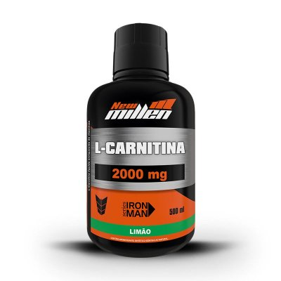 L-Carnitina 2000mg - 500ml - New Millen
