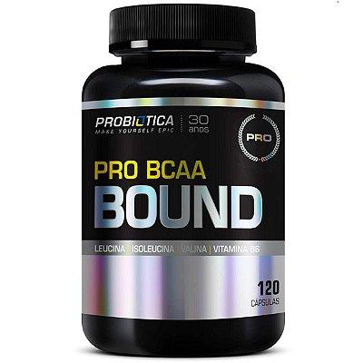 Pro BCAA Bound - 120 caps - Probiótica