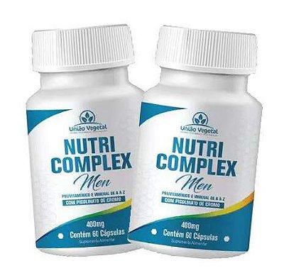 2x Nutri Complex Men - 60 caps - União Vegetal