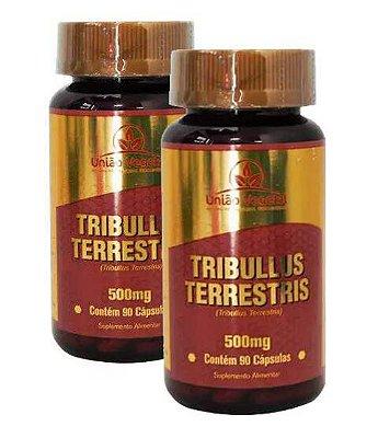 Combo 2x Tribulus Terrestris - 90 caps - União Vegetal