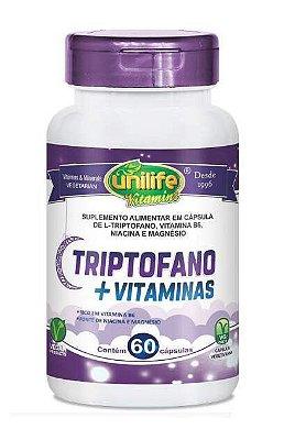 Triptofano + Vitaminas - 60 caps - Unilife