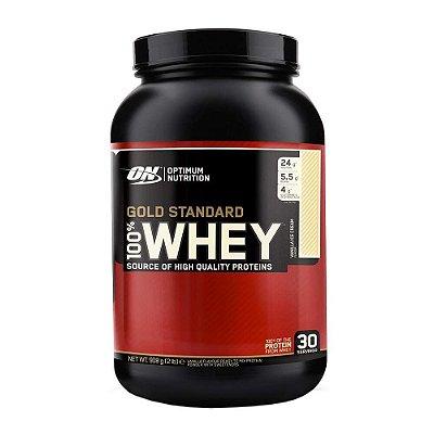 100% Whey Gold Standard - 909g - Optimum Nutrition