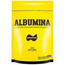 Albumina (Natural) - 500g - Naturovos