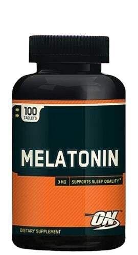 Melatonin - 100 tabs - Optimum Nutrition