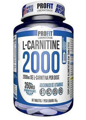 L-Carnitine 2000 c/ Cromo - 60 tabs - ProFit