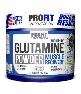 Glutamine Powder - 300g - Profit