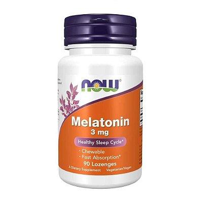 Melatonina 3mg - 90 caps - Now Foods