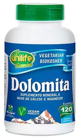 Dolomita D - 120 caps - Unilife