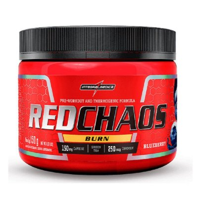 Red Chaos Burn - 150g - Integralmédica