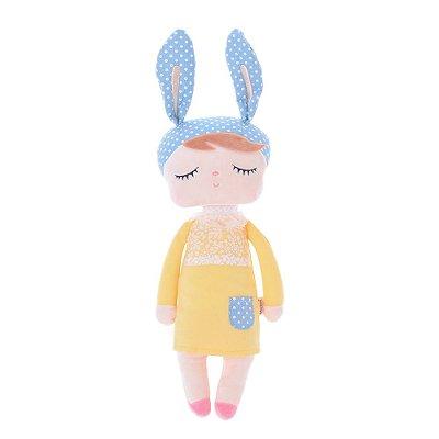 Boneca MeToo Angela Coelho | Cor: Amarela
