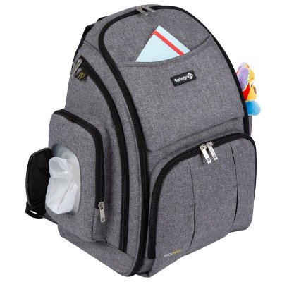 Mochila Maternidade Back Pack Safety 1st | Cor: Cinza