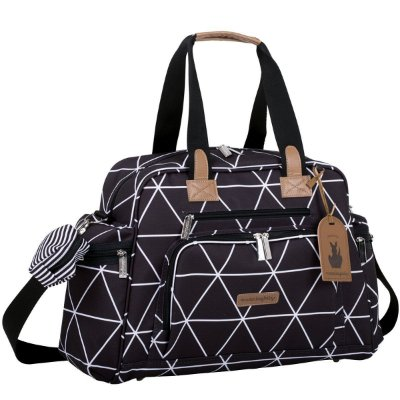 Bolsa Maternidade Everyday Manhattan Masterbag | Cor: Preto