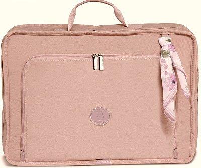 Mala Maternidade Masterbag Baby Vintage Flora | Cor: Rose