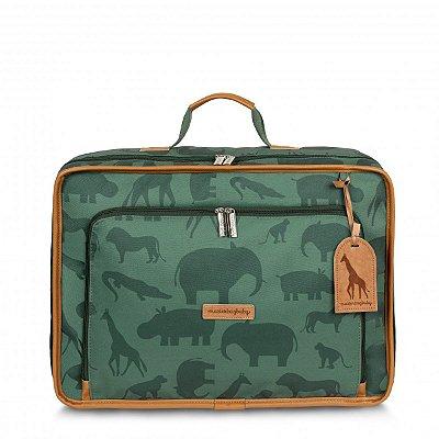 Mala Maternidade Vintage Safari Masterbag | Cor: Verde
