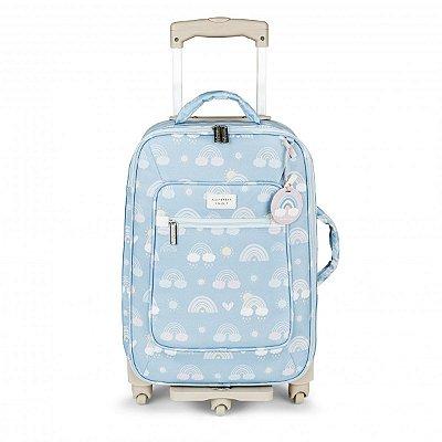Mala Maternidade de Rodinhas Arco-íris Masterbag Azul | Cor: Azul
