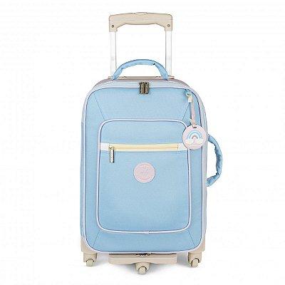Mala Maternidade de Rodinhas Colors Masterbag | Cor: Azul