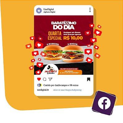Gestão Completa de Campanha para Facebook e Instagram com Criação e Publicação
