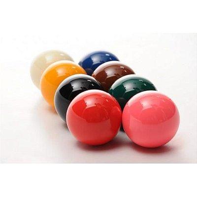 Jogo de 08 bolas para snooker - 54 mm