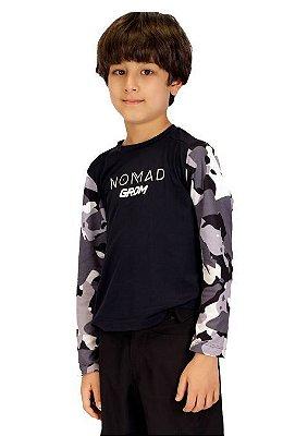 Camisa Nomad Camuflada  Infantil