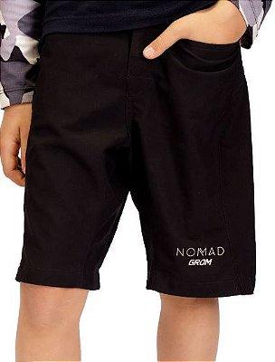 Bermuda Nomad Grom Infantil preta