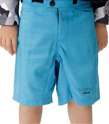 Bermuda Nomad Grom Infantil Azul