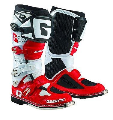 Bota GAERNE Sg12 - Vermelho/Branco