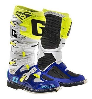 Bota GAERNE Sg12 - Azul/Branco/Amarelo