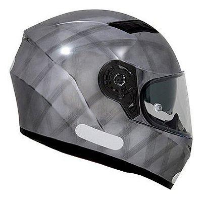 Capacete SHIRO SH600 - Cromado Escovado