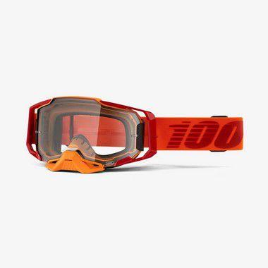 Oculos 100% Armega - Lente Cristal - Laranja
