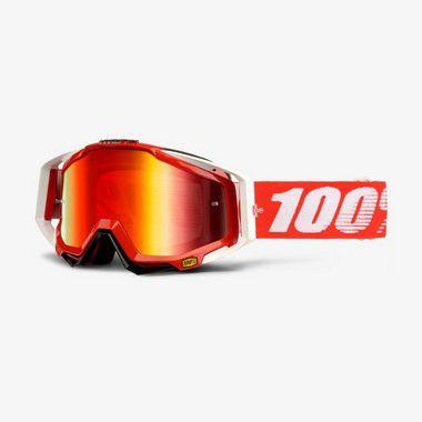 Óculos 100% Racecraft - Vermelho