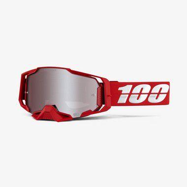 Oculos 100% Armega - Lente Espelhada Hiper - Vermelho