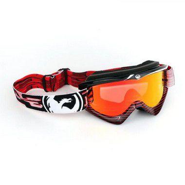 Óculos DRAGON MDX - Lente Reserva  - Vermelho