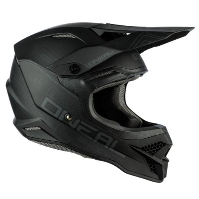 Capacete Oneal 3 Series - Flat 2.0 - Preto