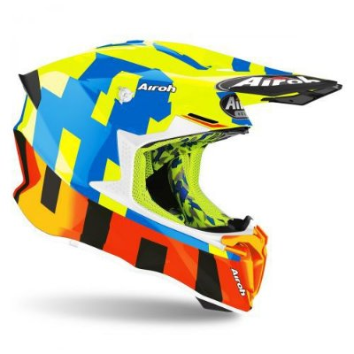 Capacete Airoh Twist 2.0 - Frame Yellow Gloss