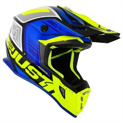 Capacete JUST 1 J38 BLADE - Azul/Fluor