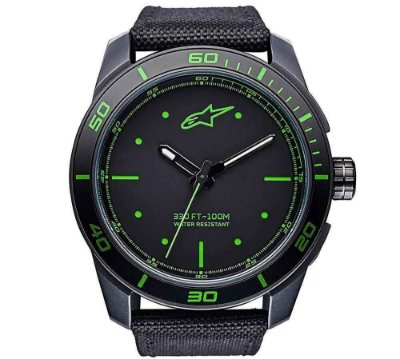 Relógio ALPINESTARS TECH - Preto/Verde