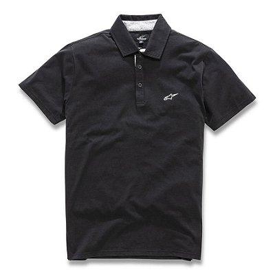 Camisa Polo ALPINESTARS ETERNAL - Preto