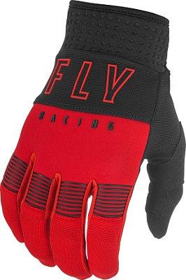 Luvas FLY F16 2021 - Preto/Vermelho