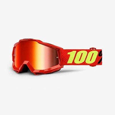 Óculos 100% Accuri - Vermelho