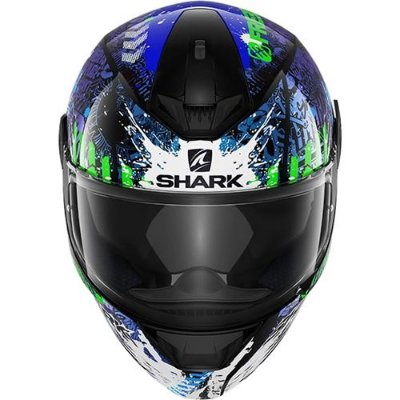 Capacete SHARK D-Skwal Switch Rider 2 - Preto/Azul/Verde