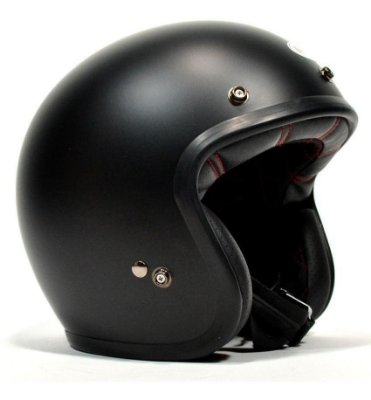 Capacete BELL Custom 500 - Preto Fosco