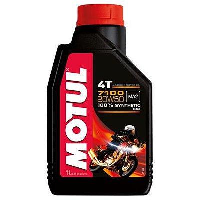 Oleo MOTUL 7100 20W50 4T 100% Sintético