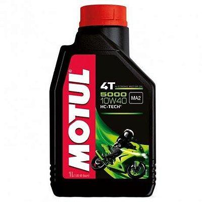 Oleo MOTUL 5000 10W40 4T Semissintético