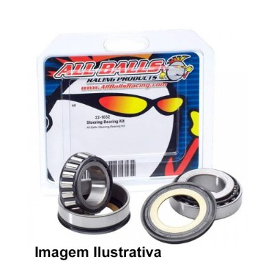 Rolamento Caixa Direção KLX450R 08-09 + KX125 92-05 + KX250 92-07 + KX250F 04-18 + KX450F 06-18 + Suzuki RMZ250 04-06