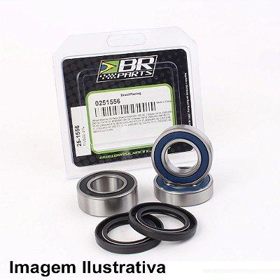 Rolamento de Roda Dianteira Suzuki DR-Z 70 08-17 + Yamaha TTR50 06-18 + YZ80 93-01 + YZ85 02-18 + Rolamento de Roda Traseira Yamaha TTR50 06-18