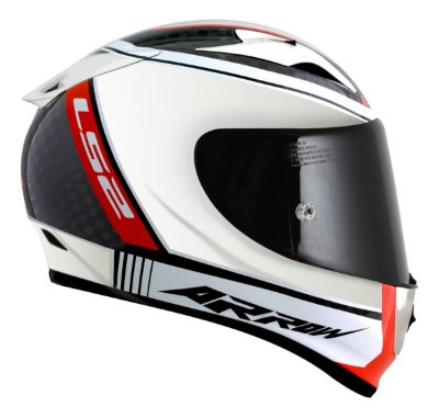 Capacete LS2 FF323 Arrow C Indy Carbon Chrome