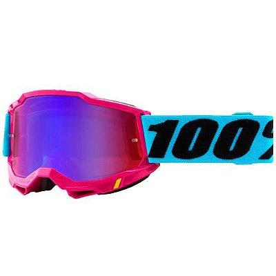 Óculos 100% Accuri 2 Lefleur Lente Espelhada