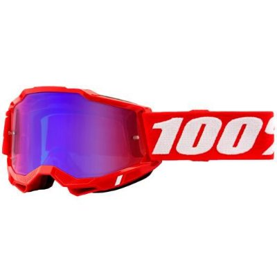 Óculos 100% Accuri 2 Red Lente Espelhada