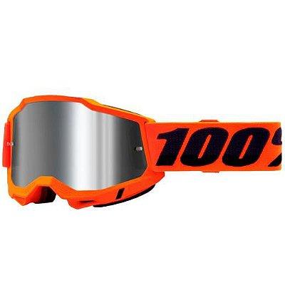 Óculos 100% Accuri 2 Orange Lente Espelhada