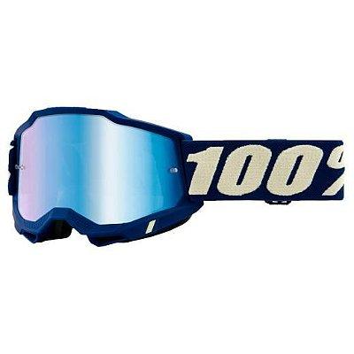 Óculos 100% Accuri 2 Deepmarine Lente Espelhada